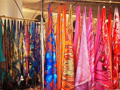 scarves craft show display