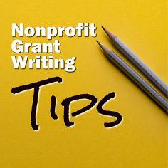 Nonprofit Grant  Writing Tips - Non Profit Grant Writing Tips