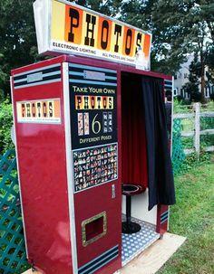 Photobooth cabine