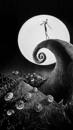 Halloween Wallpaper Iphone, Holiday Wallpaper, Fall Wallpaper, Halloween Backgrounds, Disney Wallpaper, Cartoon Wallpaper, Witchy Wallpaper, Tim Burton Kunst, Tim Burton Art