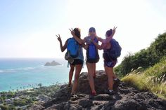 The Lanikai Pillbox hike is a great way to start your day on the Windward side of Oahu. A lot of people hike this to view the sunrise. However, me and my girl gang are on island time so we opted fo…