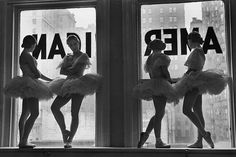 NYC. Intermission at the American Ballet, New York City; Alfred Eisenstaedt