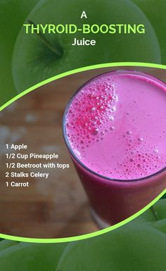 Thyroid Boosting Juice Thyroid Boosting Juice L. Gauquie leahjoanng Nutrition The thyroid plays a major role in your mood as well as […] juice recipes metabolism Juice Cleanse Recipes, Healthy Juice Recipes, Juicer Recipes, Healthy Detox, Healthy Juices, Detox Recipes, Healthy Smoothies, Healthy Drinks, Energy Juice Recipes