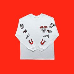 "Instagram media comesundown - ""Can eye screw u"" L/S. Available as part of range 3. Out soon."