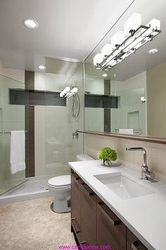 Güzel Banyo ve Aydınlatma Fikirleri (6)