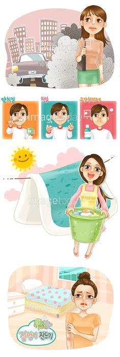 이미지투데이 일러스트 건강 청결 청소 페인터 위생 깨끗 깔끔 캐릭터 컨셉 통로이미지 tongroimages imagetoday illo illust illustration health cleaning painter clean character concept