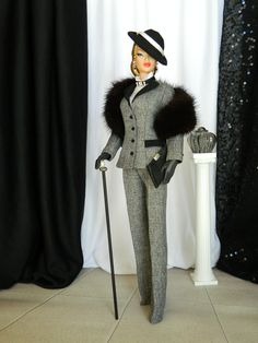 Dietrich~OOAK Fashion for Silkstone Barbie/Fashion Royalty by Joby Originals