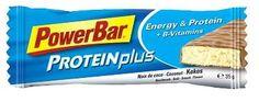Goede sportvoeding bouwt een gezond lichaam. Neem #Protein Plus Energy & Protein repen van #Powerbar.