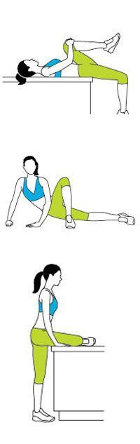 3 Stretches to Beat Back Pain (Pilates Back) Yoga Fitness, Fitness Tips, Health Fitness, Workout Fitness, Hip Stretches, Back Pain Exercises, Yoga Exercises, Fitness Exercises, Hatha Yoga