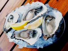 Oysters freshly farmed are irresistible! (but they have to be cooked..)
