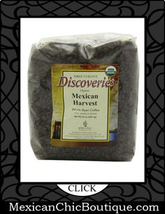 Mexican Coffee | Coffee | Cafe | Cafe Mexicano ♥ First Colony Organic Whole Bean Coffee, Mexican Harvest, 24-Ounce $15.23