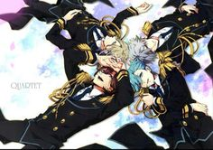 Quartet Night ~ the stage outfits are fantastic