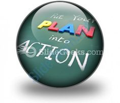 Put Your Plan Into Action Ppt Icon For Ppt Templates And Slides C  Presentation Themes and Graphics Slide01