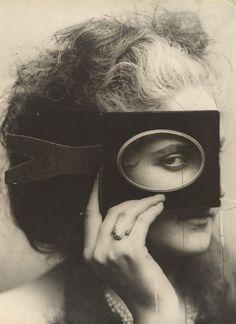 Pensive / The Countess Castiglione, ca 1863-1866, Pierre Louis Pierson.  French photographer (1822-1913)