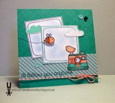 Lawn Fawn - #awesome, Hello Sunshine, Let's Polka 6x6 paper, Coral Lawn Trimmings, Hello Sunshine Mixed Sequins _ super cute card by Lenny at Get inspired and be creative.: Lawnscaping & Spectrum Noir APRIL blog hop: Turquoise & pale colors!