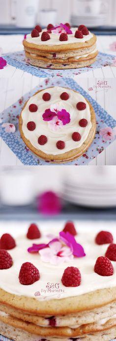 Tarta de frambuesas / http://sweetsandgiftsmarietta.com/