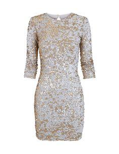 SuiteBlanco- Vestido lantejoulas Y Image, Nice Dresses, Formal Dresses, Sequin Dress, Diva, Dress Up, Chic, My Style, Nye