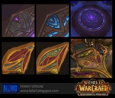 Texturing and Modeling - Warlords of Draenor, Fanny Vergne on ArtStation at http://www.artstation.com/artwork/texturing-and-modeling-warlords-of-draenor