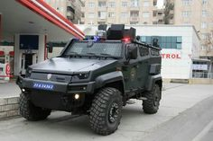 Otokar (URAL) Armored Patrol Vehicle,Armored Personnel Carrier and Multifunctional Armored Vehicle.
