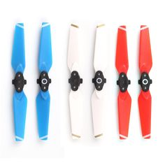 GBP - Folding Portable Cw Ccw Propellers For Dji Spark Drone Colorful Porps Folding Drone, Dji Spark, Phantom 4, Drone Technology, Drone Quadcopter, Remote Control Toys, Phone Photography, Portable, 2 Colours