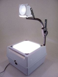 School technology of the 70's - overhead projectors