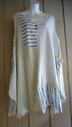 new taillissime lagenlook cotton tunic1X #TAILLISSIME #Tunic