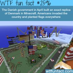 Minecraft Denmark invaded by Americans - WTF fun facts