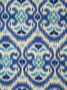 """Ikats - I love them! This is """"Alhambra Amour Luna."""""""