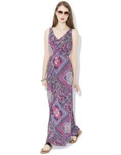Rani Scarf Print Maxi Dress