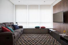 Clima despojado em apartamento clean