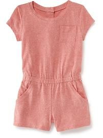 Heathered Romper for Baby