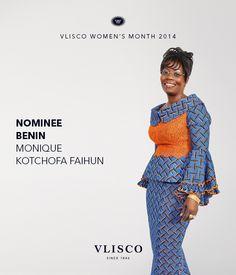 VLISCO WOMEN ~African fashion, Ankara, kitenge, African women dresses, African prints, African men's fashion, Nigerian style, Ghanaian fashion ~DKK