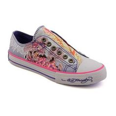 77f4c57a5dc2 Ed Hardy Lowrise sneakers. 2000s Fashion