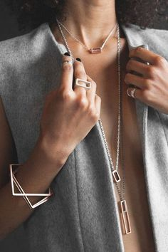 LONG RECK NECKLACE   LZZR Jewelry