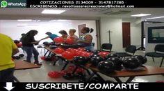 ENLAZANDO CUARTETOS CURSO DECORACION CON GLOBOS 27 - 09
