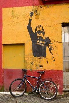Il Capitano, Francesco Totti. Rione Monti