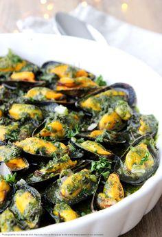 Moules au four, au beurre persillé | Les épices rient !