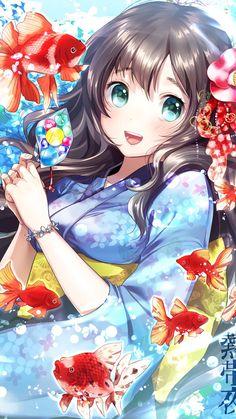 Read Anime Kimono from the story Ảnh Anime đẹp ( 1 ) by Kiritoboy (Kirigaya Yuki) with reads. Anime Girl Cute, Beautiful Anime Girl, Kawaii Anime Girl, Anime Art Girl, Manga Art, Anime Girls, Anime Neko, Chica Anime Manga, Anime Kimono