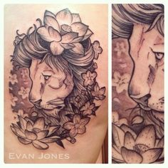 tattoo lion flowers - Cerca con Google