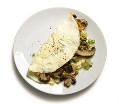 Mushroom and Egg White Omelet