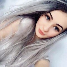 Lovely Layers - 50 Trendiest Short Blonde Hairstyles and Haircuts - The Trending Hairstyle Short Hair Wigs, Long Wigs, Long Curly Hair, Curly Hair Styles, Synthetic Lace Front Wigs, Synthetic Wigs, Short Blonde Haircuts, Long Haircuts, Stylish Short Hair