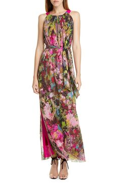 online shopping for Fuzzi Floral Print Maxi Dress from top store. See new offer for Fuzzi Floral Print Maxi Dress Floral Print Maxi Dress, Lace Sheath Dress, Ladies Dress Design, Nordstrom Dresses, Designer Dresses, Floral Prints, Clothes For Women, Style, Dress Online