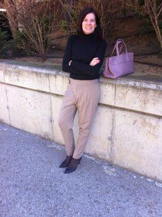 #Working #outfit cómodo, ¡de viernes!