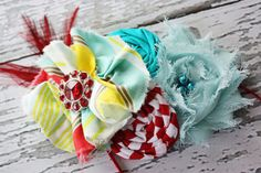 Under the Big Top - bright and funky circus inspired hair band