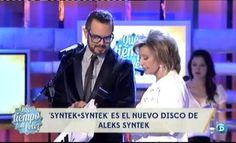 """Alekx Syntek presenta nuevo single en  """"La tormenta"""" pertenece a su disco Syntek + Syntek http://www.telecinco.es/quetiempotanfeliz/Alekx-Syntek-presenta-single-QTTF_2_1606530081.html"""