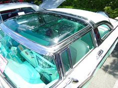 1956 Ford Fairlane Crown Victoria Skyliner  The car to have if you were a Ford lover. This is an especially nice car and would love to own it!