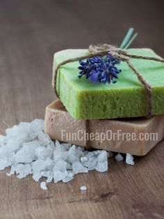 Fun fancy-schmancy soap can be pricey with a capital P. It seems to me homemade soap would be a fun project to do and a super cute gift idea!