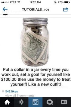 Combine shopping and working out! Everytime you accomplish that goal give yourself a dollar! After you reach 50.00 or 100.00 dollars, treat yourself to a new outfit, a fabulous pair of shoes, or an amazing Balla bracelet! www.ballabracelets.com #workout #bracelets #fashion #jewelry #trend #style #accessory