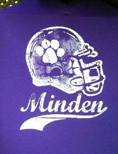 Minden High School - Whippets - Football - t-shirt - design - screen print - Kearney, NE - Shirt Shack