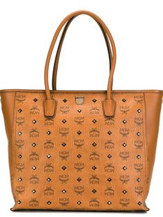 f5f488116595 Shop MCM large  Visetos  shopper tote in Giulio from the world s best  independent boutiques